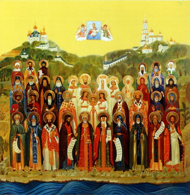 30 июня (воскресенье) память всех святых в земле Российской просиявших