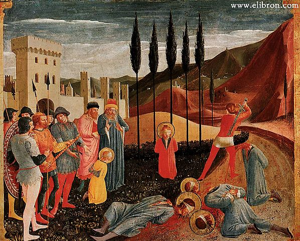 14 июля (воскресенье) память бессребреников Космы и Дамиана, в Риме пострадавших (284).