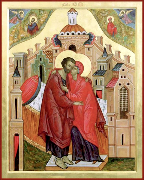 22 сентября (воскресенье)-память святых праведных Иоакима и Анны.