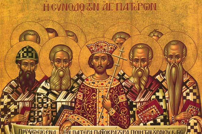 27 октября (воскресенье)- память святых отцев VII Вселенского собора.