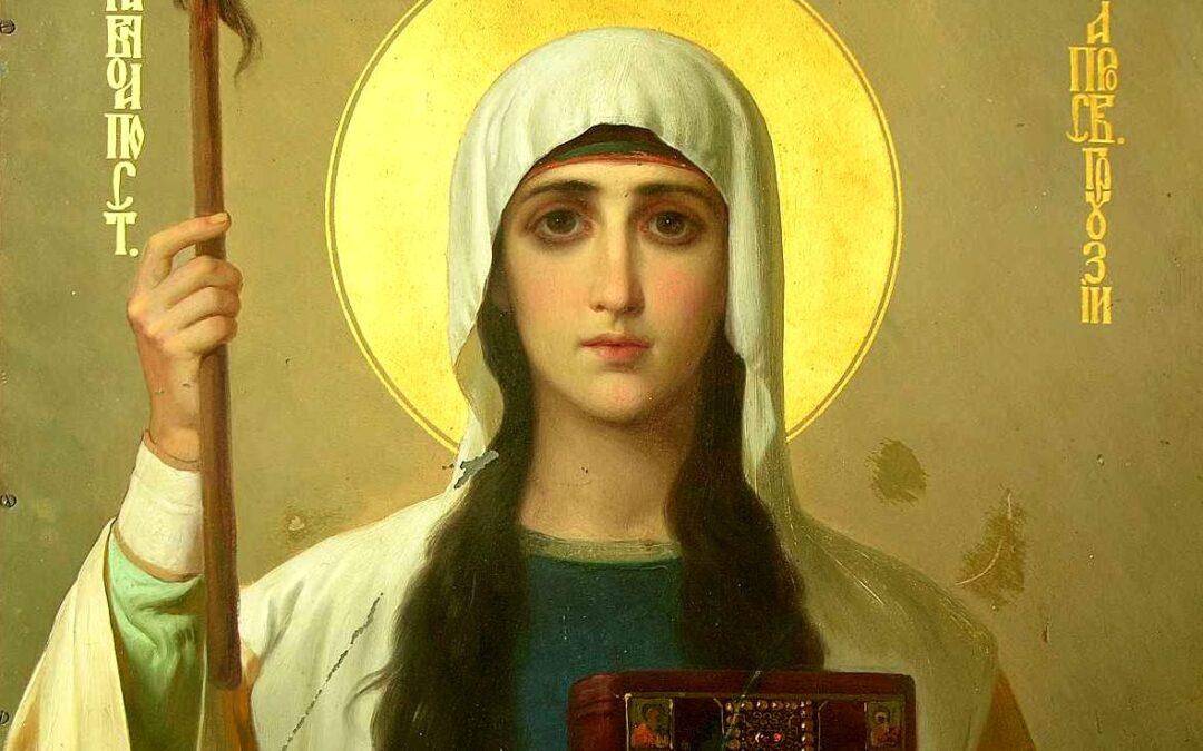 27 января (понедельник)- память св. равноап. Нины, просветительницы Грузии.