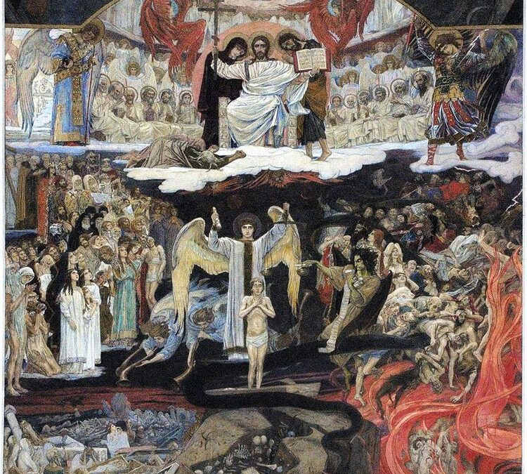 23 февраля (воскресенье)-Неделя мясопустная, о Страшнем суде. Заговенье на мясо.