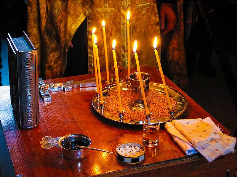 Соборование в нашем храме.