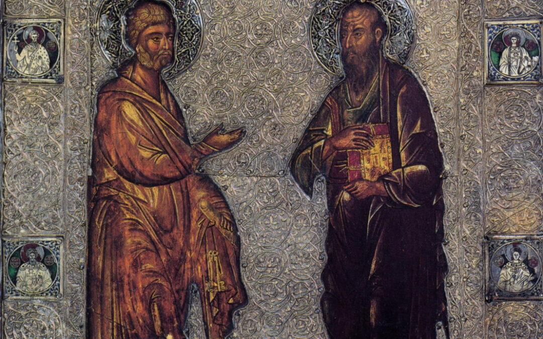 12 июля (воскресенье)-славных и всехвальных первоверховных апостолов Петра и Павла.