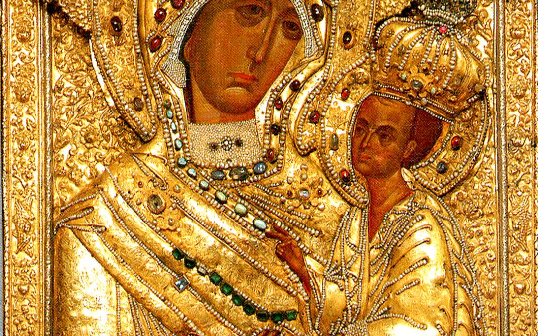 9 июля (четверг)- день празднования Тихвинской иконы Божией Матери (1383).