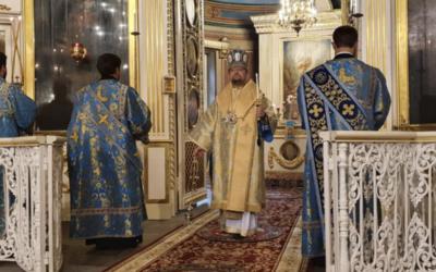 Завтра Божественную литургию в нашем храме возглавит правящий архиерей Выборгской епархии Владыка Игнатий.