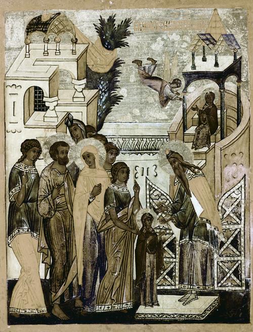 4 декабря (пятница) — Введение во храм Пресвятой Владычицы нашей Богородицы и Приснодевы Марии.