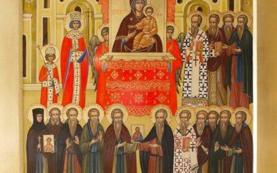 21 марта (воскресенье)-  Неделя 1-я Великого поста. Торжество Православия.