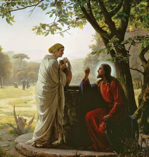 30 мая (воскресенье)- Неделя 5-я по Пасхе, о самаряныне.